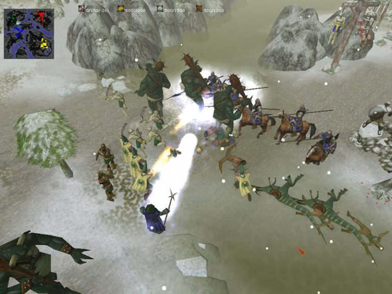Glest ücretsiz strateji oyunu