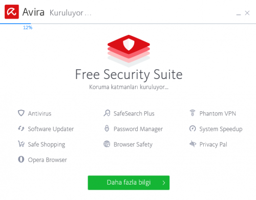Avira Free Antivirus 2019 – Ücretsiz Antivirus yazılımı