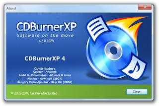 Ücretsiz cd yazdırma programı CDBurnerXP