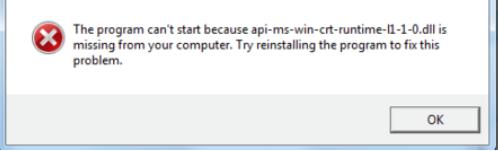 api ms win crt runtime l1 1.0 hatası nasıl çözülür