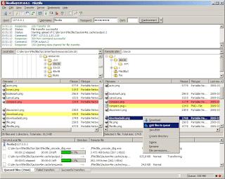Filezilla 3.32 – Açık kaynak kodlu ftp programı