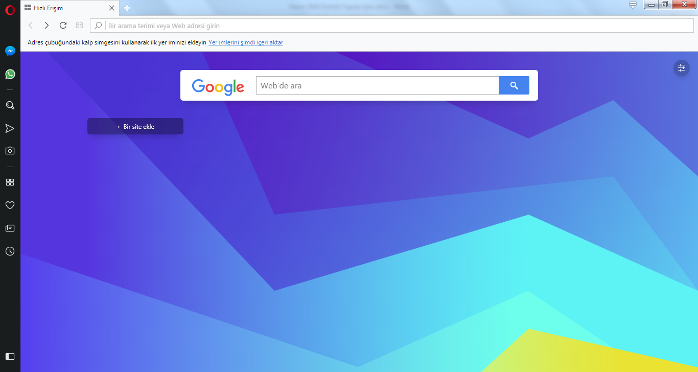 Opera Web Browser 56