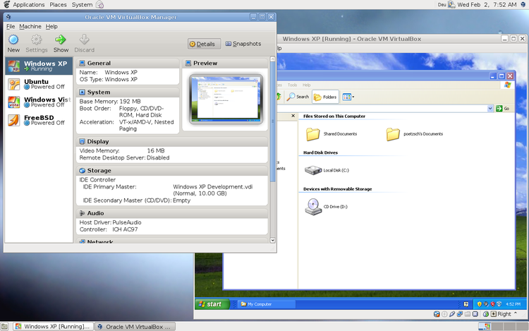 Sanal Pc Yazılımı : Oracle VM VirtualBox 5.2.20