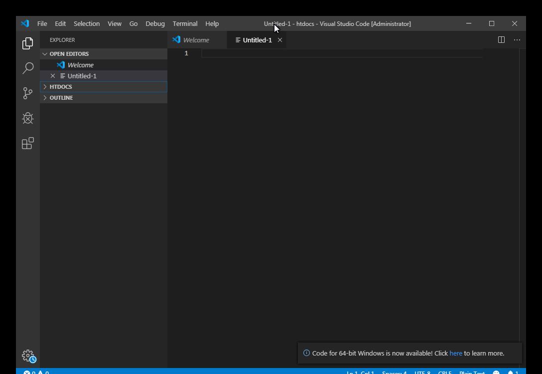 Visual Studio Code 1.42