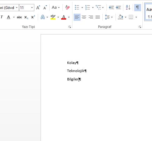 Office Excel, Word Araç çubuğu sabitleme, otomatik gizleme nasıl yapılır?